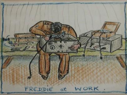 Freddie At Work